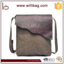 Bolso casual de calidad superior del hombro del bolso de la lona del algodón