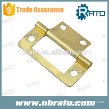 RH-117 small brass plated furniture hinge