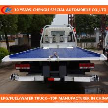 Tri-Eixos Flatbed Heay Duty Camião / Flatbed Wrecker / Flatbed Transporte Caminhões / Reboque Caminhão Wrecker