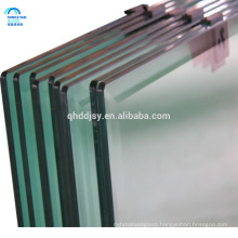 10mm 12mm thick ultra clear float tempered glass for balcony fencing
