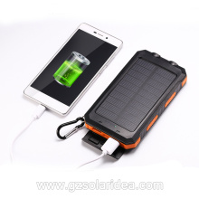 USB Portable External Off-grid Solar Charger Power Bank