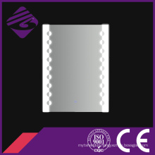 Customized Rectangle Wall Silver Glass LED Decorative Mirror