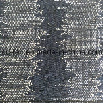 40% Lino 60% Hilado de algodón Tela teñida de Jacquard (QF16-2515)