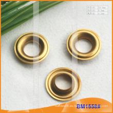 Ojetes de cobre amarillo para la ropa / el bolso / los zapatos / la cortina BM1558