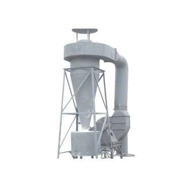 Cyclone separator with bag filter