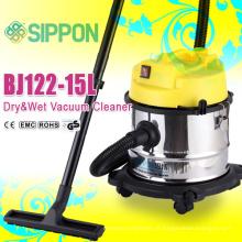 Aspirador molhado e seco com filtro HEPA e ventilador