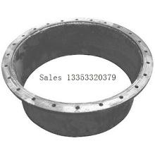 Camión cisterna Accesorios Brida de hierro de aleación Aluminio Manhole Cover