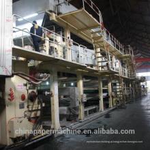 Máquina de fabricação de papel de revestimento de papel Kraft