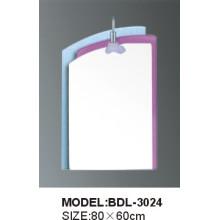 Espelho de vidro do banheiro da prata da espessura de 5mm (3024)