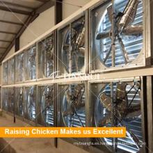 Ventilador eléctrico de la casa de aves de corral del pollo para el sistema de control del ambiente