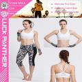 2016 Moda New Sexy Personalizado Sutiã Acolchoado Sublimada Tamanho Livre para Esportes