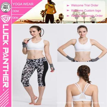 2016 мода Новый сексуальный пользовательские Сублимированный мягкий свободный размер бюстгальтера для спорта