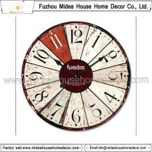 20 años China Decoración de Hogar Fábrica de Reloj de pared de promoción personalizada