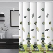 Tela impermeable impresa baño de la cortina de ducha