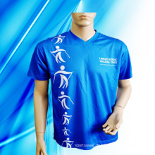 100% Polyester Man's Sublimation Druck T-Shirt
