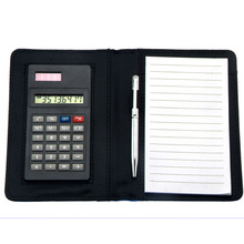 8 Digits Multi-functional Notebook Calculator with Pen