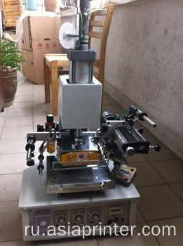 Desktop Plastic and Paper Hot Foil Embossing Machine