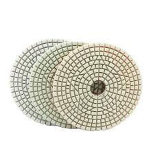 3pcs/set 4 Inch Wet Dry Use 3 step diamond polishing pads marble granite Natural Stone