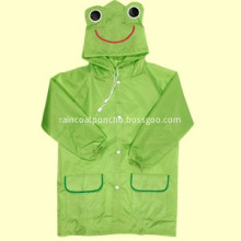 Durable Children Plastic Rain Coat