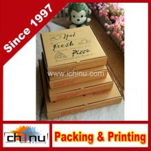 Коробка для пиццы с гофрированной бумагой (1312)