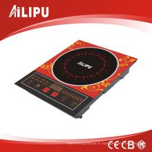 Cuisinière à induction / cuisinière d'induction intelligentes de fréquence avec le contact de sonde