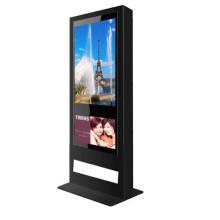 Machine de publicité d'affichage extérieur de 55 pouces