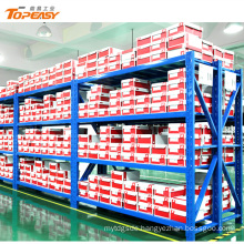 medium duty powder coated steel bulk storage shelving