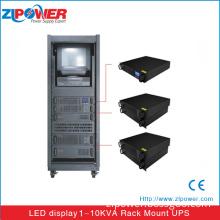 2U/3U 19 inch Rack mount UPS 1KVA-10KVA ,UPS input 110vac 220vac for server room ,True online double conversion UPS with PWM and IGBTS