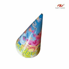 Solid Color Printing Color Party Hats By OPP Bag