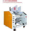 High speed fully auomatic rewinding machine