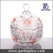 Colored Glass Candy Jar (GB1824MI/P2)