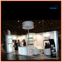 Exposição de acrílico modular sistema de exibição de cabine portátil de Xangai