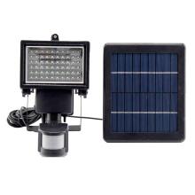 Lumières solaires d'inondation du jardin LED de 3W avec le capteur de mouvement