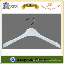 Low Price Large Clothes Sweater Hanger em plástico
