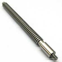 Lead Screw CNC Micro Machining Precision Stainless Steel Machining Processed Part OEM