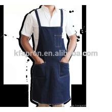 Baumwoll-Hochleistungs-Shop-Werkzeugschürze Denim