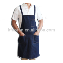 avental da ferramenta da loja do algodão pesado denim