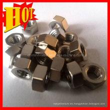 Venta al por mayor Gr5 Titanium Fasterners Made in China