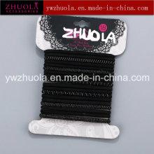 Pas de support de cravate en caoutchouc métallique