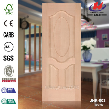 HDF MDF Natural Wood Beech Door Panel