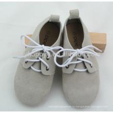 Британский стиль моды детей прочной резиновой подошвы Оксфорд обувь
