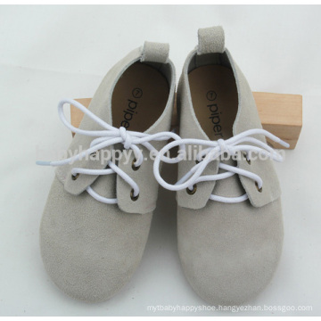 British style fashion kids durable rubber sole Oxford shoes