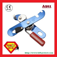 CE EN341 Aluminum Self-Braking Safety Descender