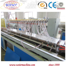 Perfil de PVC WPC que faz a máquina