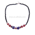 Fashion Boho Bling Bling Colorful Chunky Crystal Beaded Necklace