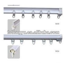plastic curved hospital curtain track for sale