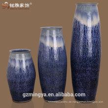 Elegantes Design Hotel Lobby Dekoration Keramik Material hohe dekorative Vase