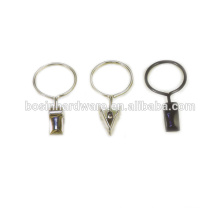 Fashion High Quality Metal Curtain Ring Curtain Clip