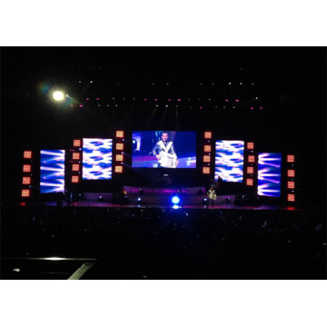 Indoor Stage Rental LED Display Seamless Splicing