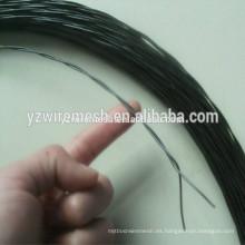 Alambre torcido negro / alambre torcido de 6 hilos